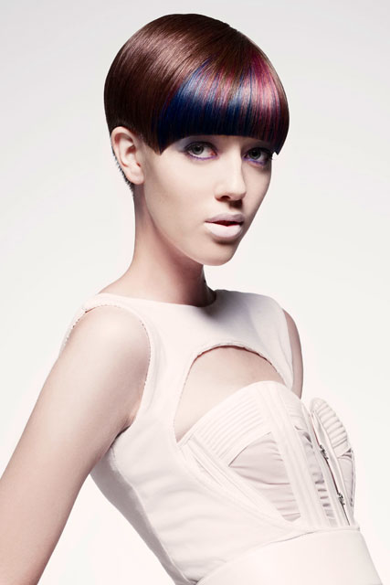 Tracey Hughes For Mieka Hairdressing Australia Depiction