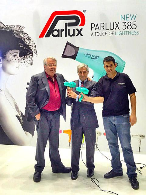 Paolo Parodi, AU Parlux con i sigg. Fabré di Fama Fabré