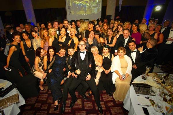 Marc Antoni Celebrates a Success