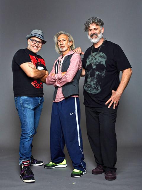 Ssh! protagonists - Emiliano Vitale, Robert Lobetta & Benni Tognini