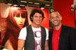 Aldo Montano  e David Sabbadini - COSMOPROF WORLDWIDE BOLOGNA 2010