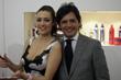 Martina Stella con Francesco La Barba - COSMOPROF WORLDWIDE BOLOGNA 2010