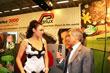 Martina Stella con Paolo Parodi - COSMOPROF WORLDWIDE BOLOGNA 2010