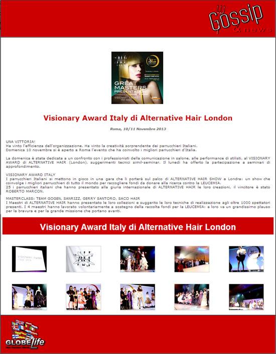 Alternative Hair - Visionary Award Italy 2013